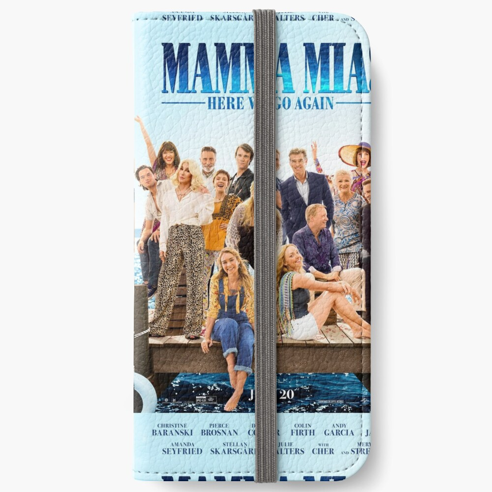 Mamma Mia - ¡Aquí vamos otra vez! Fundas tarjetero para iPhone