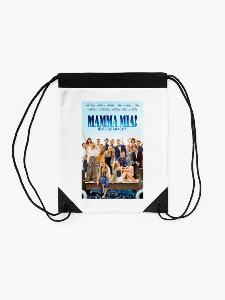 Alternate view of Mamma Mia - Here we go Again! Drawstring Bag