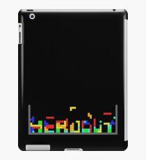 Tetris HeadOut iPad Case/Skin