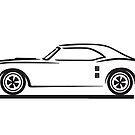 1967, 1968, 1969 Pontiac Firebird by Frank Schuster