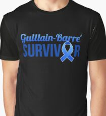 Guillain-Barre Syndrome Awareness GBS Awareness Graphic T-Shirt