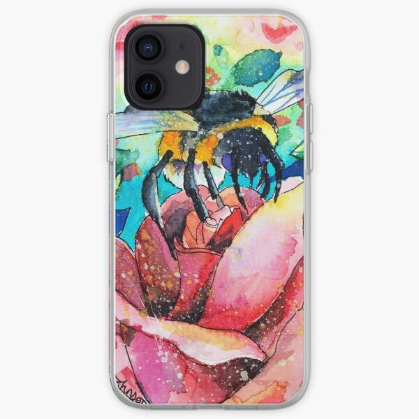 Could it BEE Romance? iPhone Soft Case