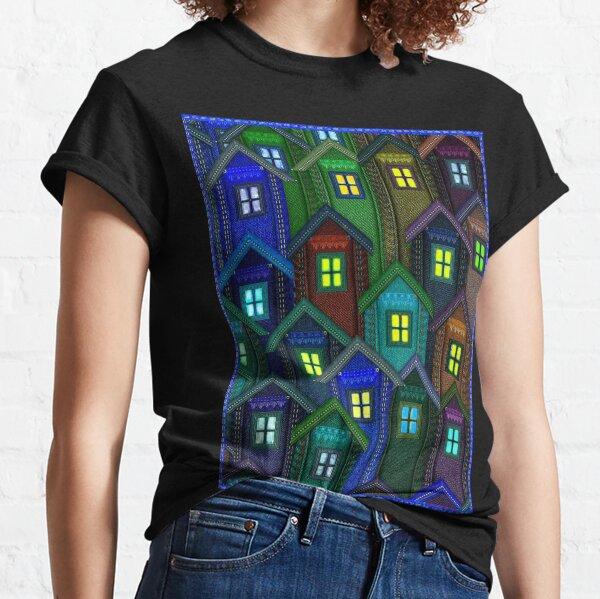 Blue Jeans Housing Compound (1) Classic T-Shirt