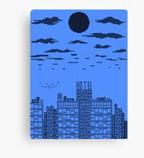 Blue Skyline Canvas Print