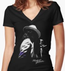 Jackson Women's Fitted V-Neck T-Shirt