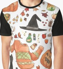 Fall Items - Autumn Feelings - I am Ready For Fall Graphic T-Shirt
