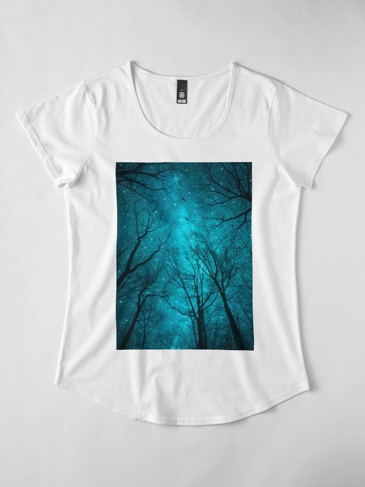 Alternative Ansicht von Sterne können nicht ohne Dunkelheit leuchten Premium Rundhals-Shirt