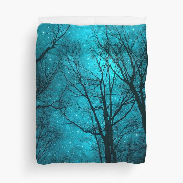 Stars Can't Shine Without Darkness Duvet Cover