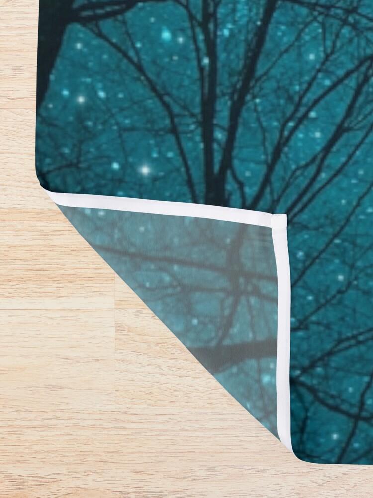 Alternative Ansicht von Sterne können nicht ohne Dunkelheit leuchten Duschvorhang