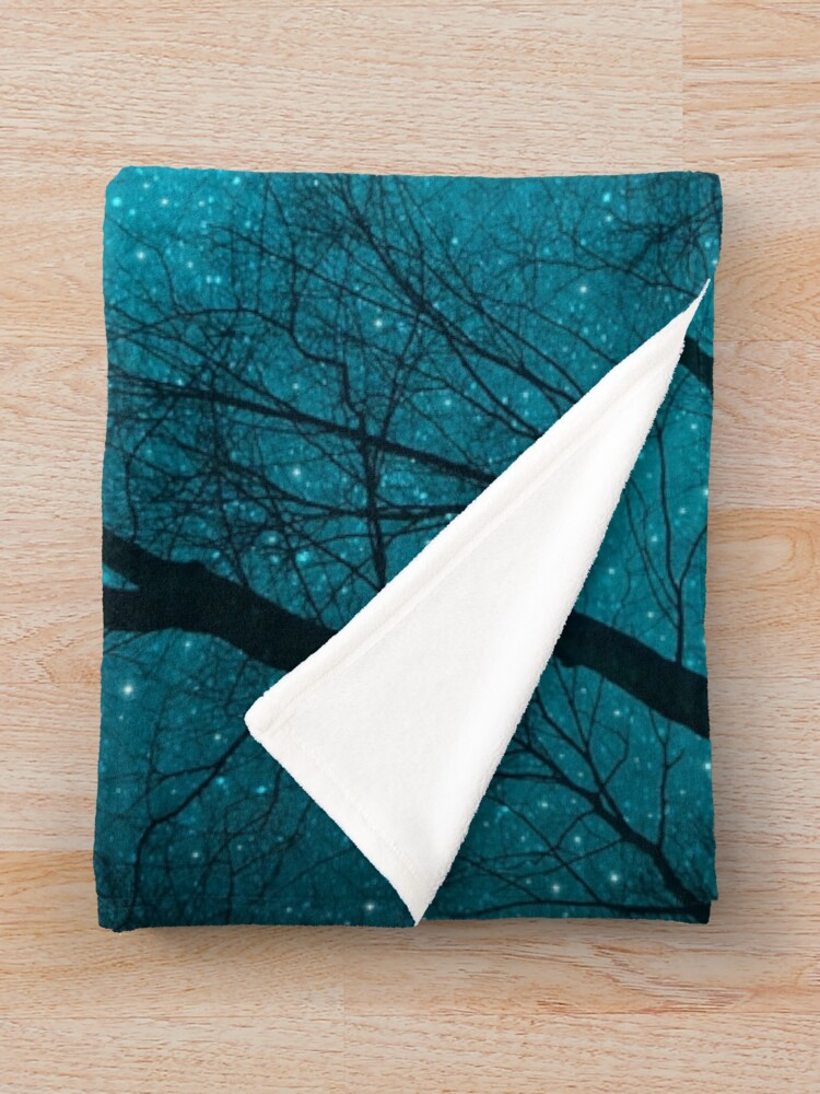 Alternate view of Stars Can't Shine Without Darkness Throw Blanket