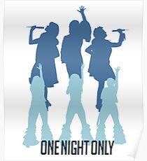 Donna und die Dynamos, nur für eine Nacht! Poster