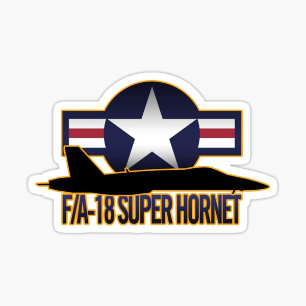 F/A-18 Super Hornet  Sticker