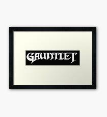 Gauntlet - NES Title Screen Framed Print