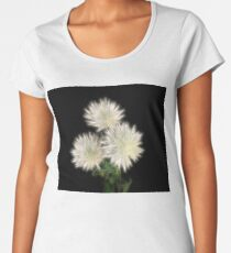 Electric Flowers! Premium Scoop T-Shirt