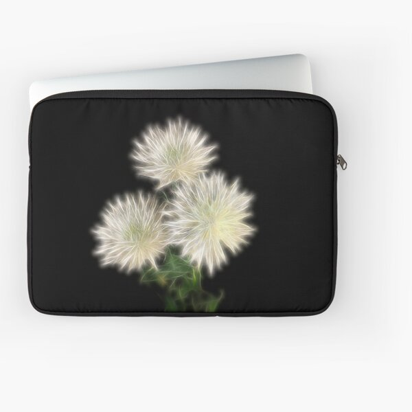 Electric Flowers! Laptop Sleeve
