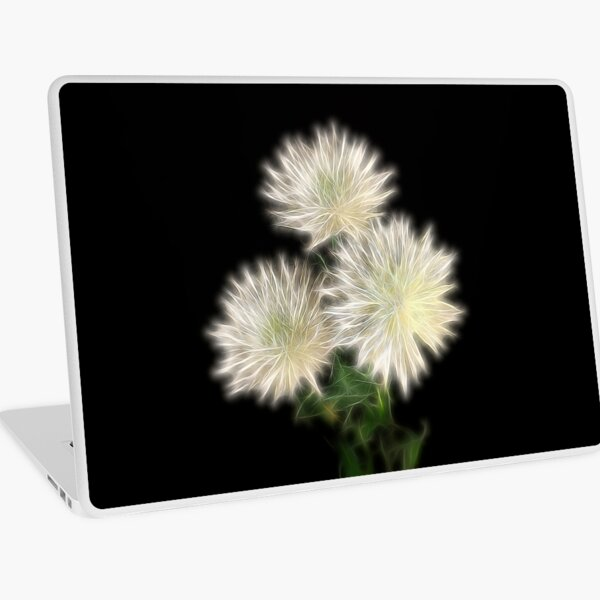 Electric Flowers! Laptop Skin