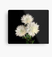 Electric Flowers! Metal Print