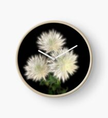 Electric Flowers! Clock