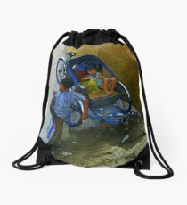 Lunchtime. Drawstring Bag