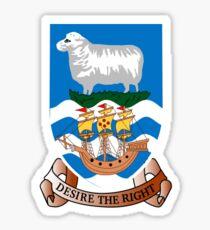 Coat of arms Falkland islands Sticker