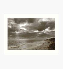Winters Afternoon At Burns Beach Western Australia Art Print
