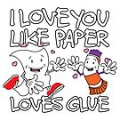Paper Loves Glue by deancoledesign