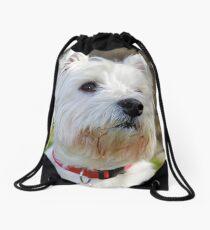 West Highland Terrier Drawstring Bag