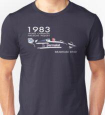 BRABHAM BT52 - 1983 NELSON PIQUET (V1) Unisex T-Shirt