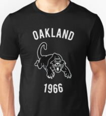 OAKLAND 1966 - SCHWARZ PANTHER PARTY Slim Fit T-Shirt