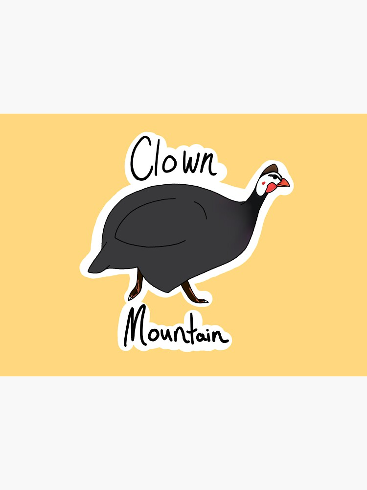 Clown Mountain (Guinea Fowl) by klovesbunnies