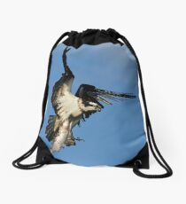 Osprey (Pandion haliaetus) Drawstring Bag