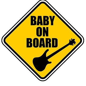Rickenbacker Baby On Board! by Joby-F-Randrup
