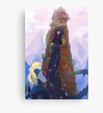 Once Upon A Tangled Canvas Print