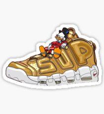 Golden Suptempos x Donald Duck Sticker