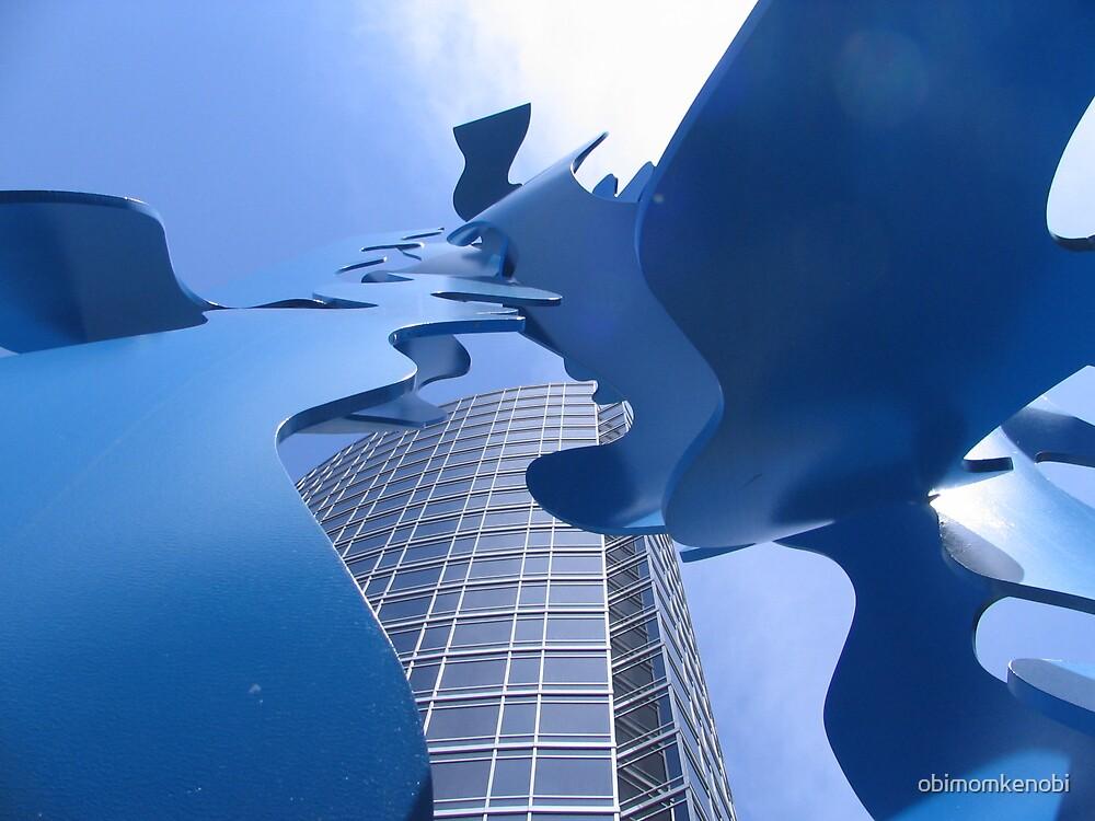 Blue Currents by obimomkenobi