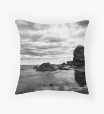 Reflections of stubbornness Throw Pillow