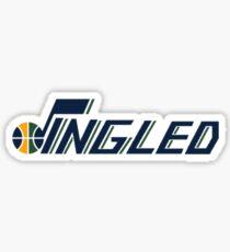 Jingled - Utah Jazz Sticker