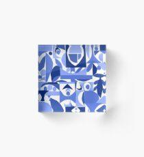 tango in blue ... Acrylic Block