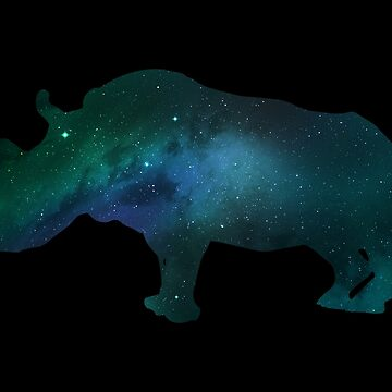 Galaxy Sudan, The Last Male Northern White Rhino by LemoBoy