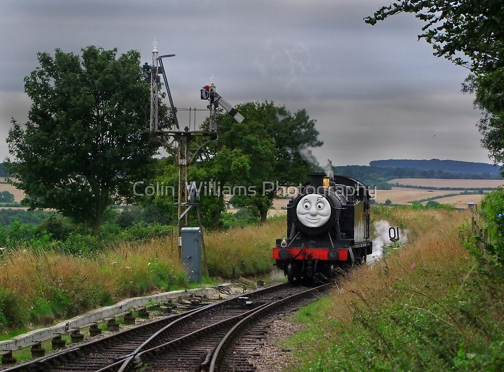 """Douglas"" Approaches The Points by Colin  Williams Photography"