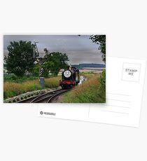 """Douglas"" Approaches The Points Postcards"