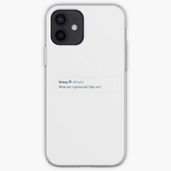 What Am I Gonna Do? Say No? Drake Meme iPhone Soft Case