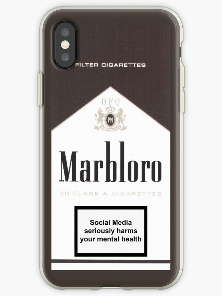 coque cigarette iphone xr