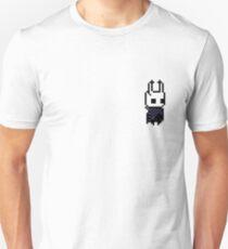 Hollow Knight - Der Ritter pixelig Slim Fit T-Shirt