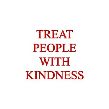 Treat People With Kindness Sticker - Harry Styles by decentart