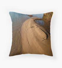 sandbar Throw Pillow