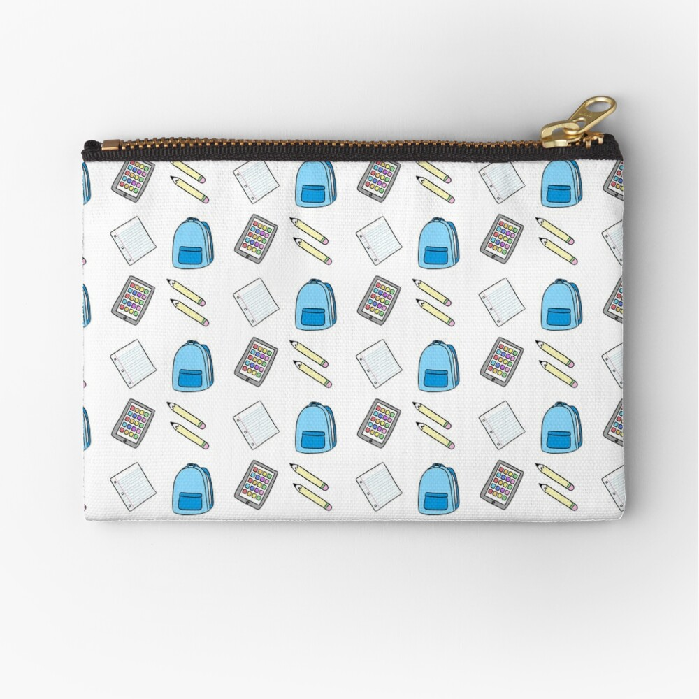 What's In My Backpack? Zipper Pouch