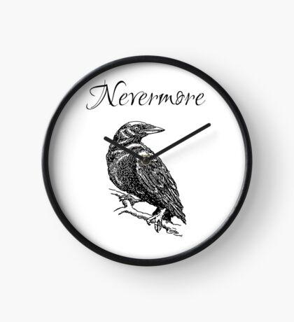 "Edgar Allen Poe - The Raven ""Nevermore"" Clock"