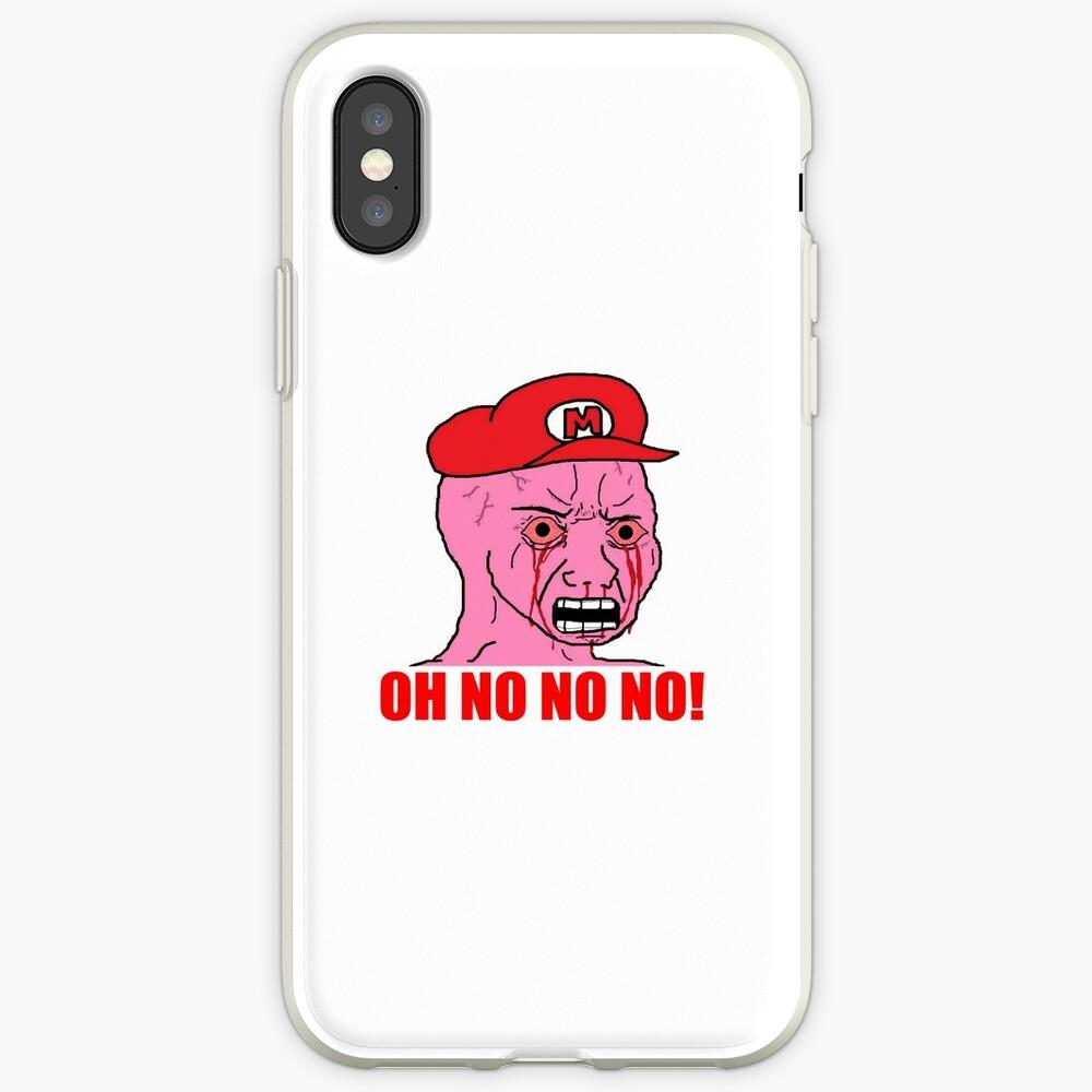 Mario Wojak iPhone-Hüllen & Cover