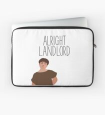 Grumio Plebs Alright Landlord? Laptop Sleeve